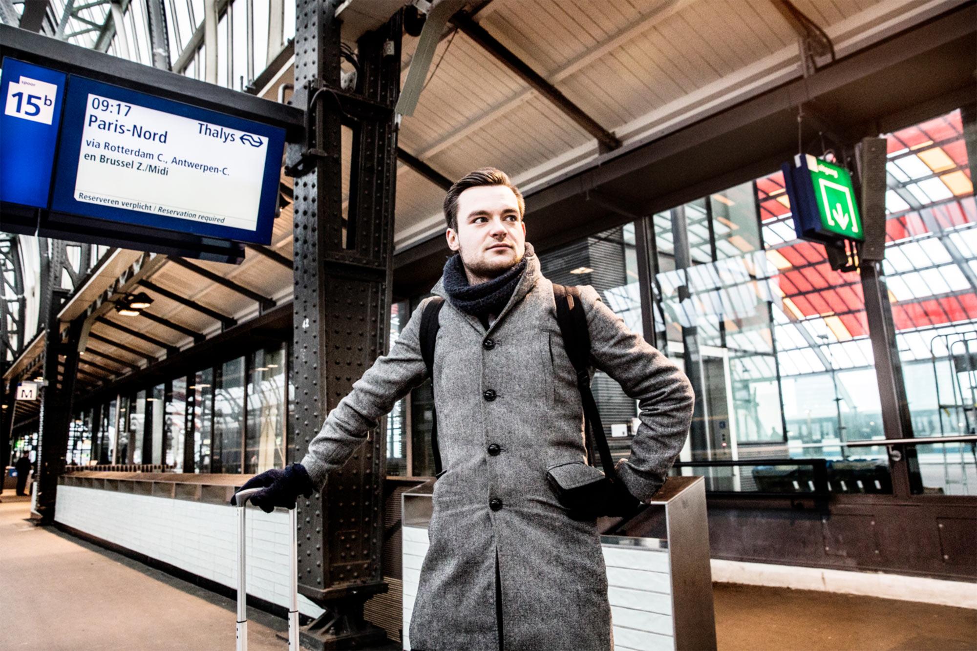 Welke trein brengt u in drie uur van amsterdam naar parijs