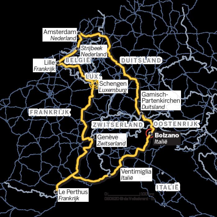 Grenzen Aan Europa Een Rondreis